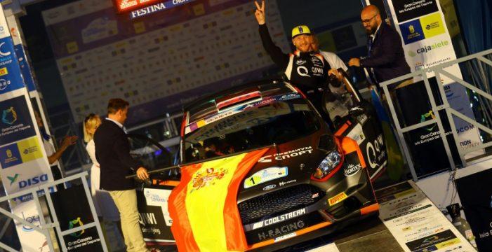 Luis Monzón-José Carlos Déniz abrirán los primeros tramos del Rally Islas Canarias