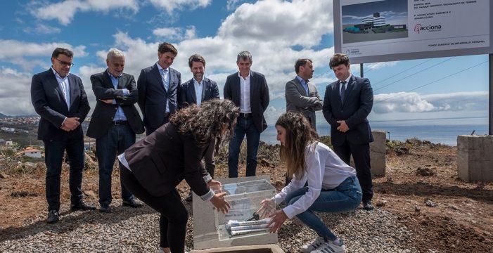 Colocada la primera piedra de la sede central del Parque Científico y Tecnológico INtech Tenerife