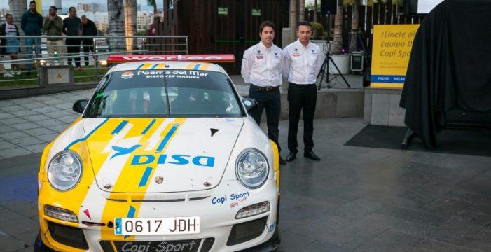 El equipo DISA Copi Sport se presentó en el Rally Islas Canarias