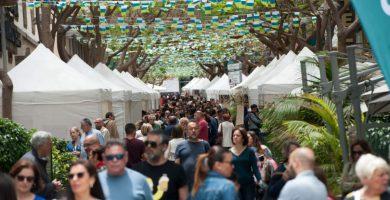Miles de personas disfrutan del Día de Canarias en Santa Cruz. / DA
