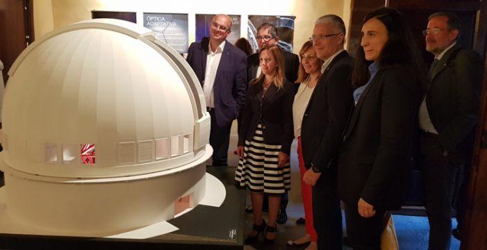 Las Islas 'presumen' ante Europa del Gran Telescopio Canarias