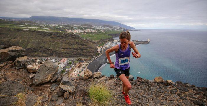 Laura Orgué, ganadora de la media maratón de la Transvulcania, habla sobre la prueba palmera