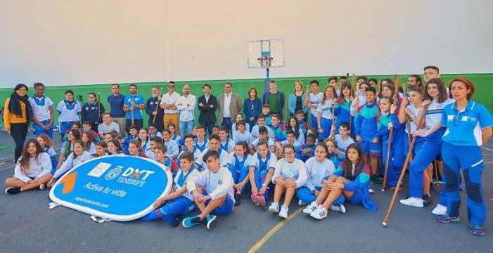 Los deportes autóctonos llegan a más de 1.700 escolares tinerfeños a través del programa Lo Nuestro en tu Centro