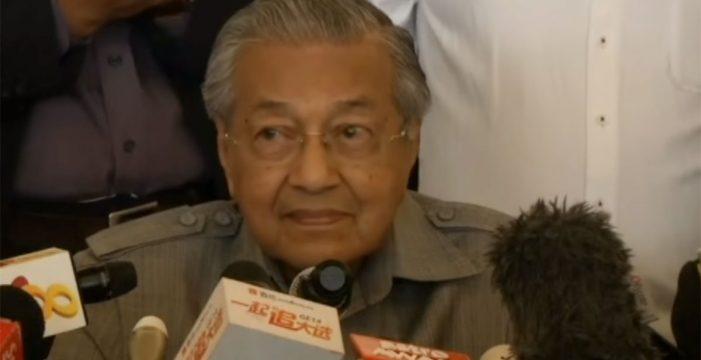 Victoria histórica de la coalición opositora de Malasia en las elecciones generales