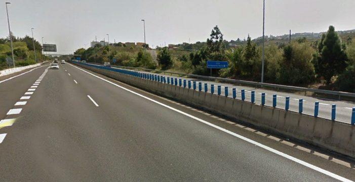 Herida en un accidente de tráfico en la autopista del Norte