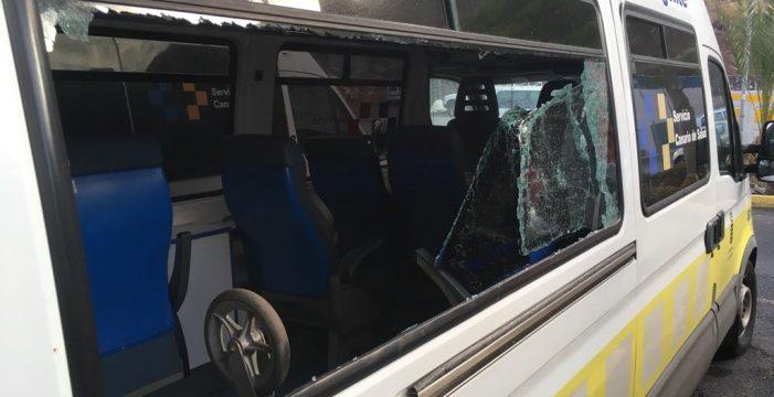 Nuevos actos vandálicos destrozan tres de las cuatro ambulancias de La Gomera