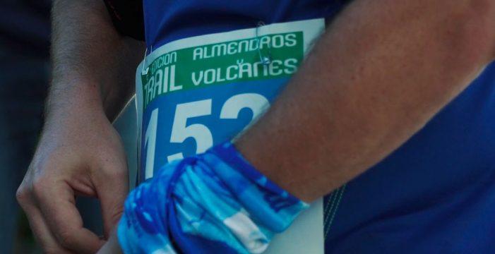 Medio millar de personas se dieron cita en el VII Trail Almendros y Volcanes