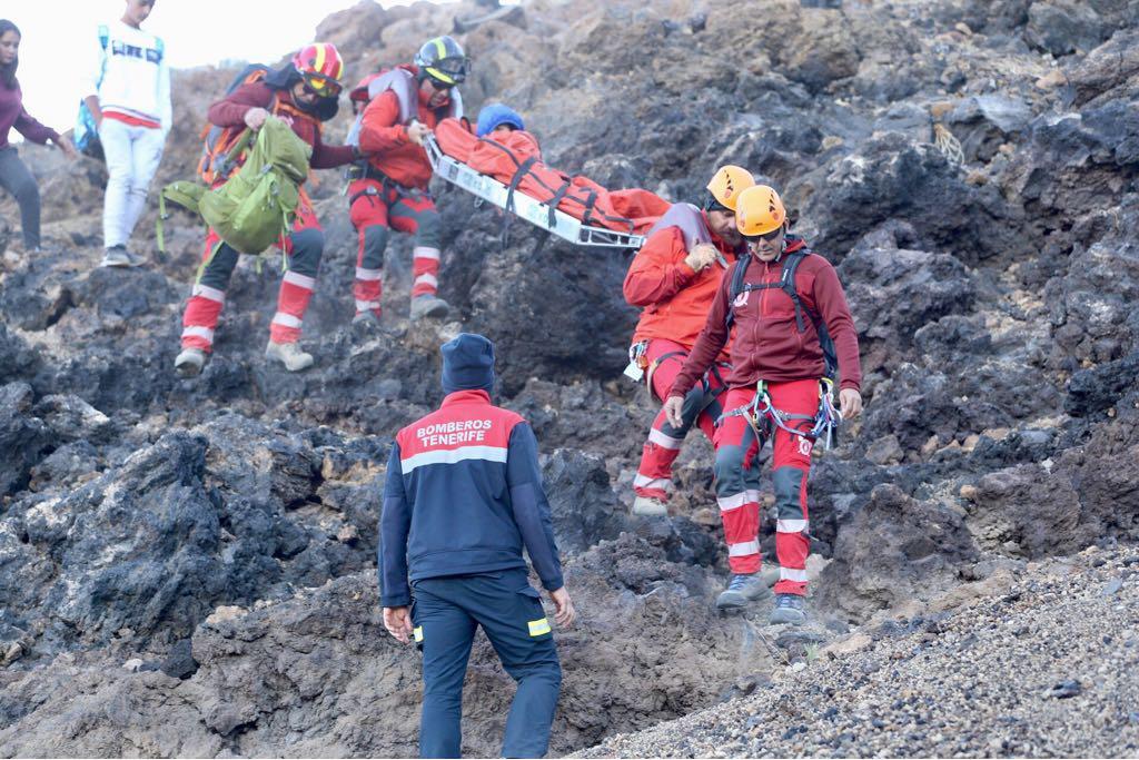 Un simulacro en el Teleférico congrega a unos 250 miembros de emergencias