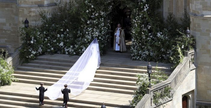 Las mejores imágenes del enlace real entre Meghan Markle y el príncipe Harry