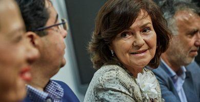 La exministra del PSOE Carmen Calvo