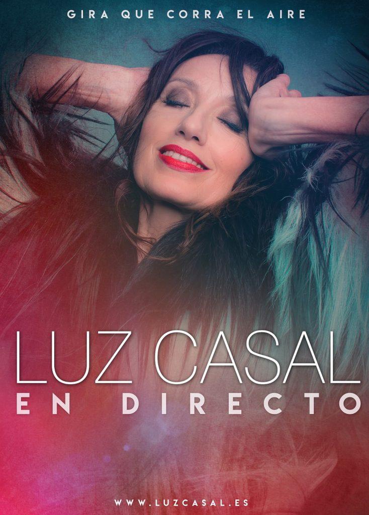 Cartel de la gira de Luz Casal. | DA