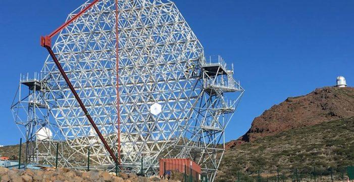 Abren una nueva ventana en el Roque para captar los fenómenos más violentos del Cosmos