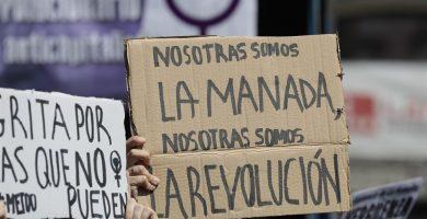 DENUNCIAS VIOLACIÓN MANIFESTACIÓN LA MANADA