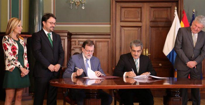 Rajoy, el histórico negociador del PP con los nacionalistas canarios