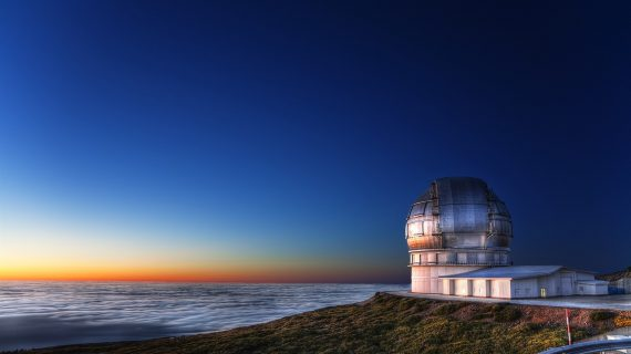 Diez años desde que Canarias juega la 'Champions' de la Astrofísica