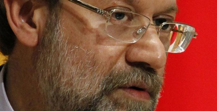 """El presidente del Parlamento iraní asegura que Trump no tiene la """"capacidad mental"""" para lidiar con problemas"""