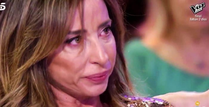 María Patiño abandona 'Sábado Deluxe' entre lágrimas por culpa de Gustavo y Jorge Javier