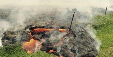 Lava del volcán Kilauea, en Hawái. / EP
