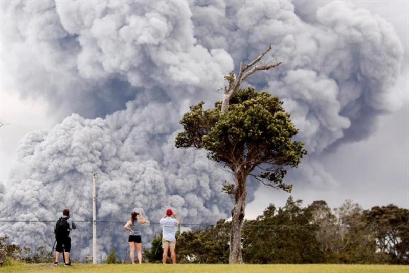 Erupción del volcán Kilauea en Hawái. / EP