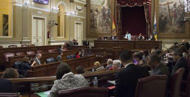 El Parlamento canario, sin apoyo de CC y ASG, aprueba la propuesta de reforma electoral