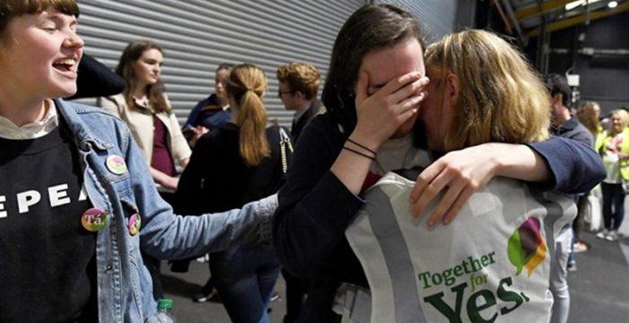Arrolladora victoria del 'Sí' a la liberalización del aborto en Irlanda