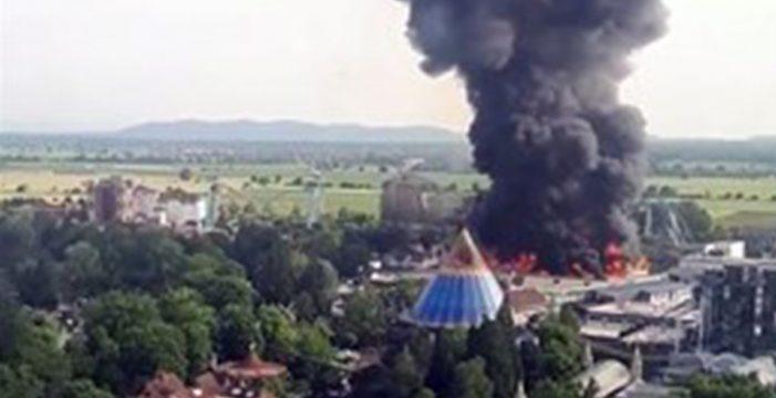 Registrado un incendio en Europa Park, el parque de atracciones más grande de Alemania