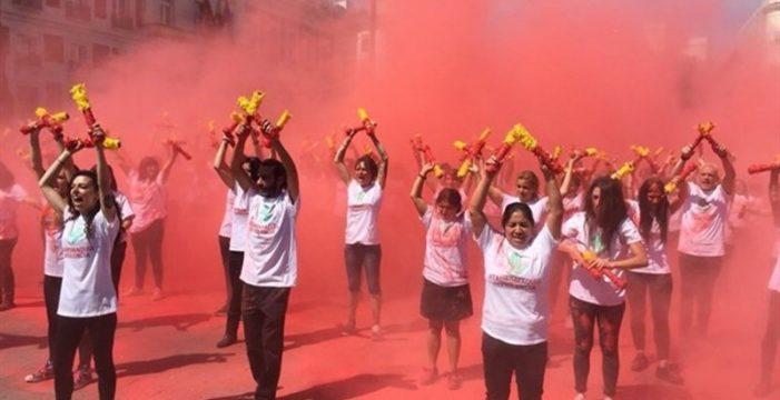 """""""La tortura no es cultura"""": miles de personas se manifiestan en Madrid contra la tauromaquia"""