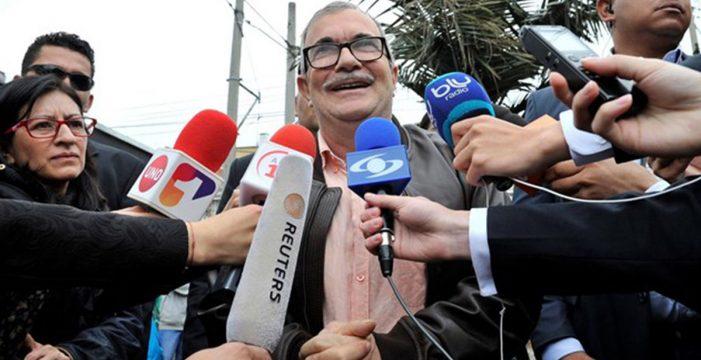 Vota por primera vez 'Timochenko', el exlíder de las FARC