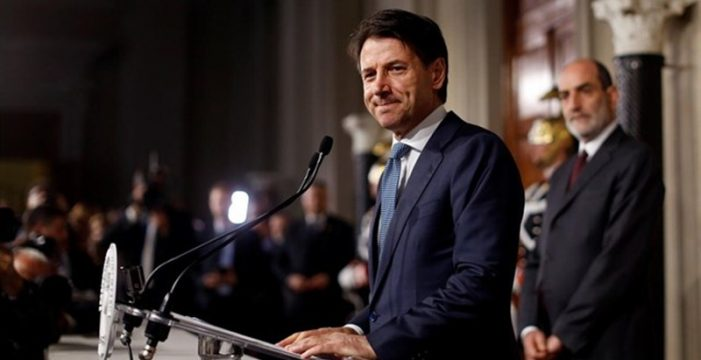 Conte renuncia a formar gobierno en Italia tras vetar el presidente al candidato a ministro de Economía