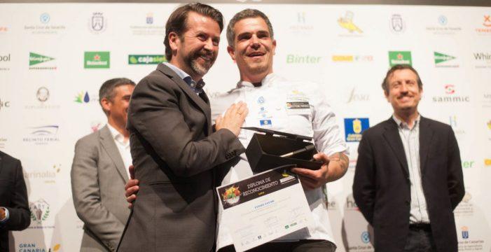 Joao Henrique Faraco vence en el Campeonato de Canarias de Cocina de GastroCanarias