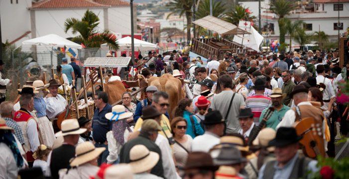 Valle de Guerra celebra su romería en honor a San Isidro