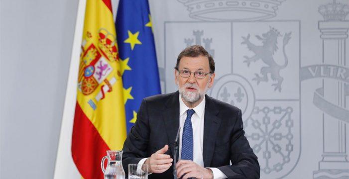 Rajoy acusa a Pedro Sánchez de querer llegar al Gobierno a cualquier precio