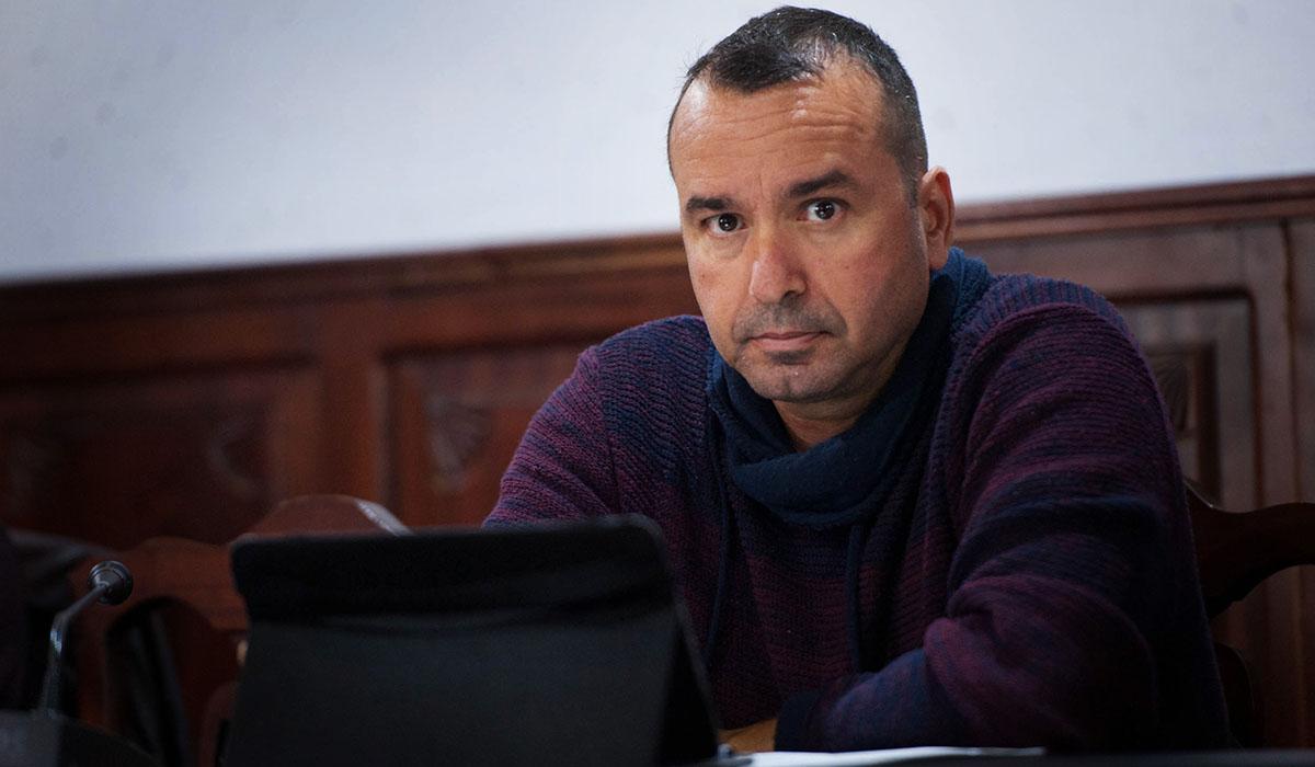 Ruymán Expósito, portavoz municipal de Sí se puede en el Ayuntamiento de Güímar. DA