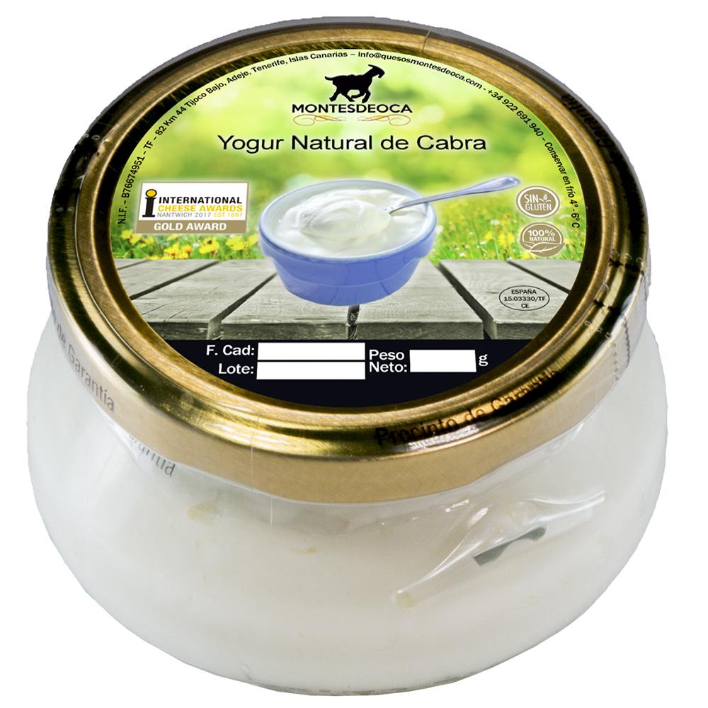 Un yogur de cabra de adeje entre los mejores de am rica - Continente y contenido ...