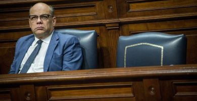 José Miguel Barragán, consejero de Presidencia, Justicia e Igualdad. Andrés Gutiérrez