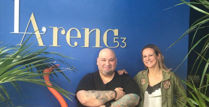 Curro Palomares, nuevo chef de LArena53
