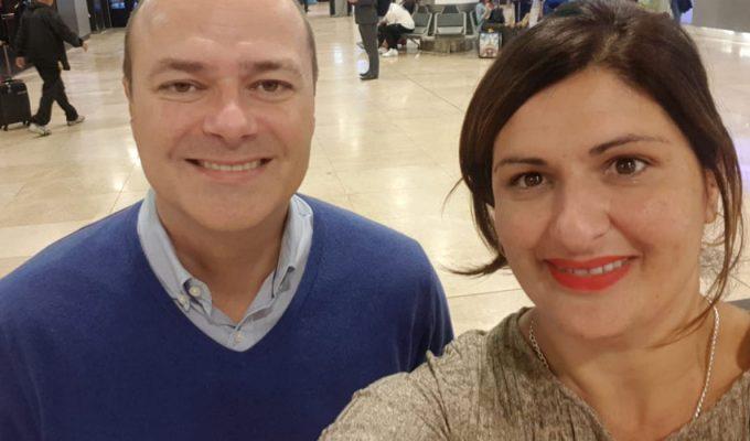 La alcaldesa de Güímar inicia el viaje de 10 días a varias capitales chinas