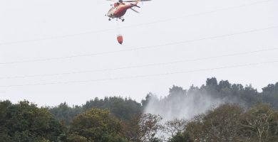 El dispositivo de la lucha contra incendios en Canarias contará con un helicóptero más que el pasado año. Sergio Méndez