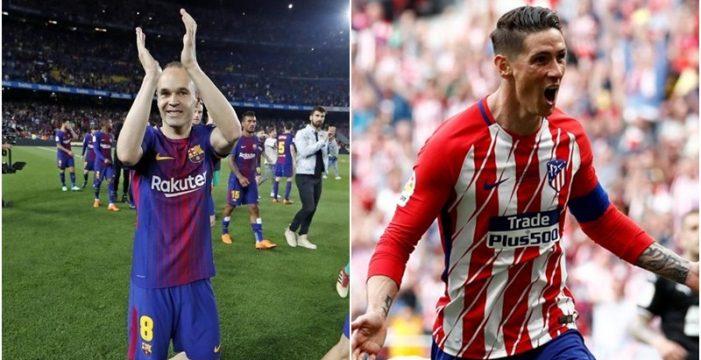 Barça y Atlético sí saben cómo despedir a sus mitos