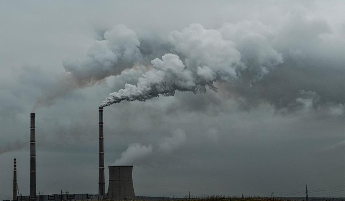 POLUCIÓN CO2 ATMÓSFERA