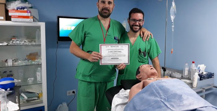 Conceden un premio tecnológico al proyecto de simulación clínica avanzada del HUC