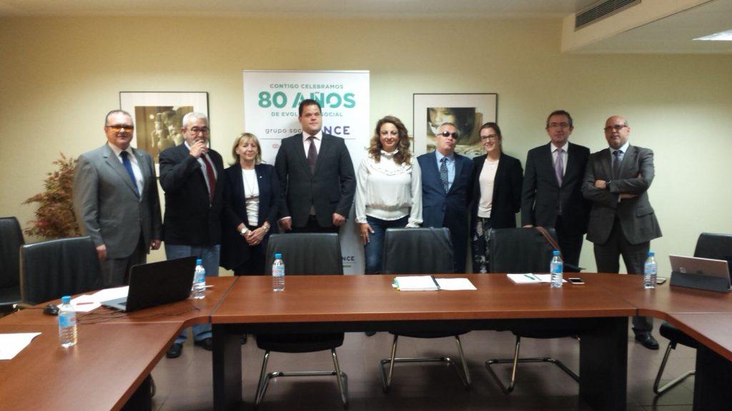 Jurado de los Premios Solidarios ONCE Canarias. | DA