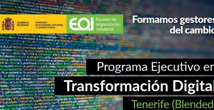 Programa ejecutivo en transformación digital para mejorar la competitividad