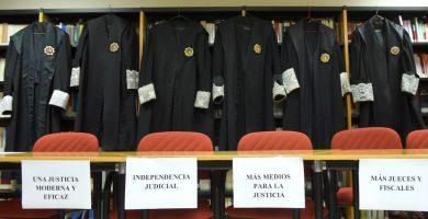 El 91% de los jueces y 81% de fiscales secundan la huelga en Santa Cruz de Tenerife