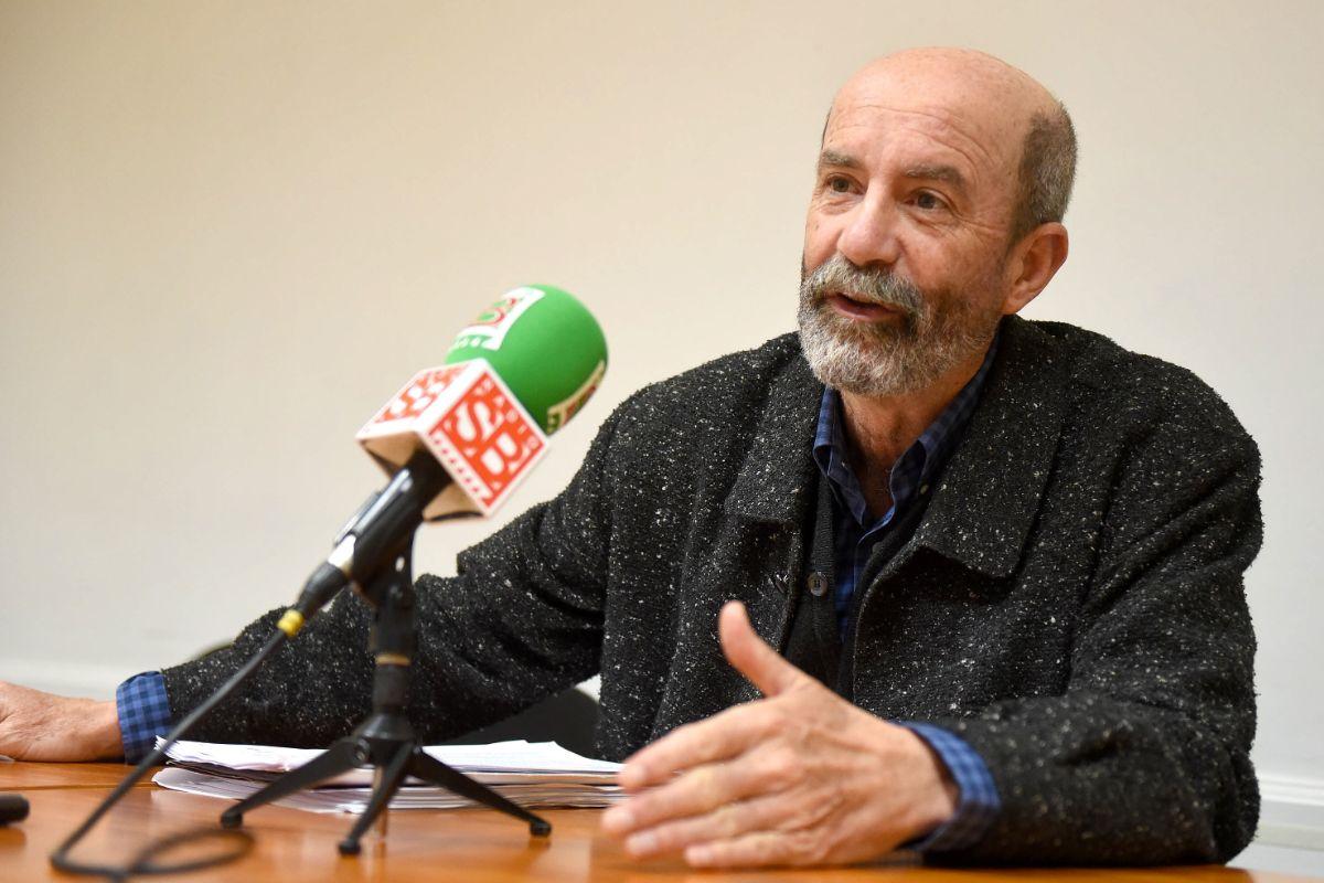 Santiago Pérez, durante la rueda de prensa. / FOTO: Sergio Méndez
