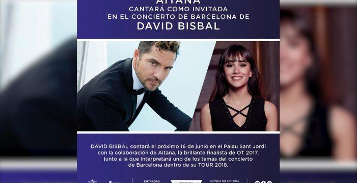 Universal comunica la colaboración de Aitana y Bisbal en concierto