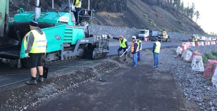 El Gobierno da un nuevo impulso a la remodelación de la carretera del Sur de La Palma