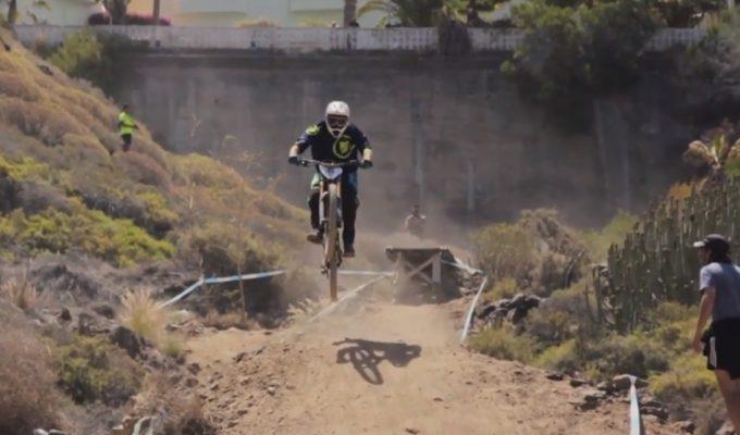 Vuelve la adrenalina con el III Descenso Extremo Santiago del Teide
