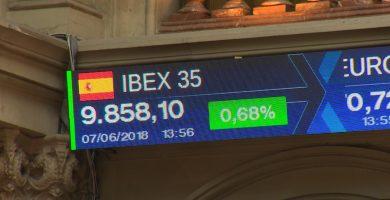 El Ibex 35 subía un 0,83% tras la incertidumbre política