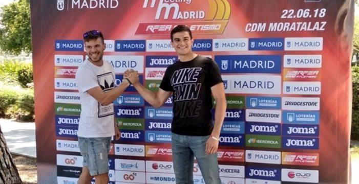 Bruno Hortelano pulveriza el récord de España de 400 metros y gana el duelo ante Husillos